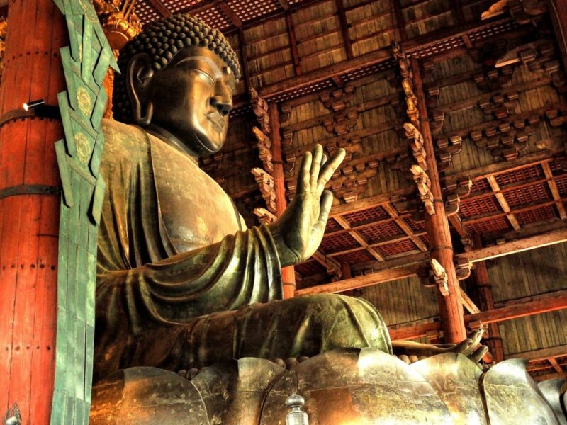 The Great Buddha at Todaiji Temple
