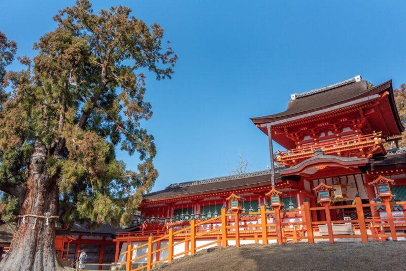 Front of Kasuga Taisha