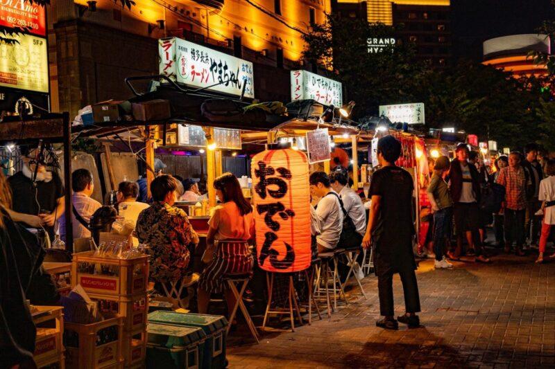 Nakasu street food