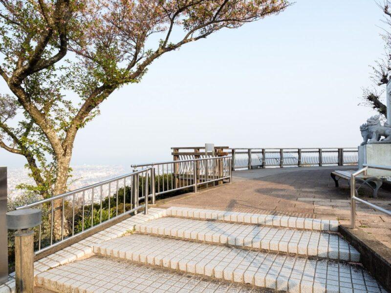 Inside park Mt. Bizan